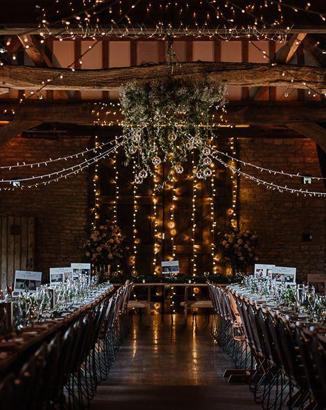 Fairylight Tythe Barn Wedding with Dreamcatchers   Martina Liana Wedding Dress   Blush Bridesmaids Dresses   New Forest Studio Photography