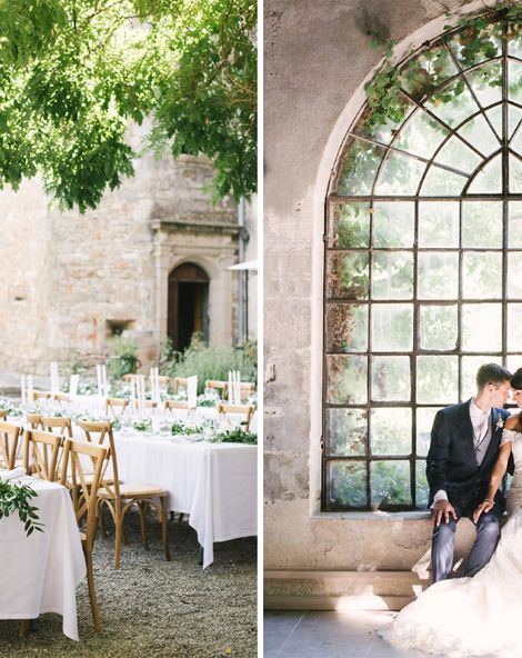 French Chateau Wedding