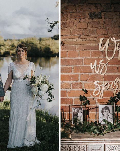 Laser Cut Wedding Signs