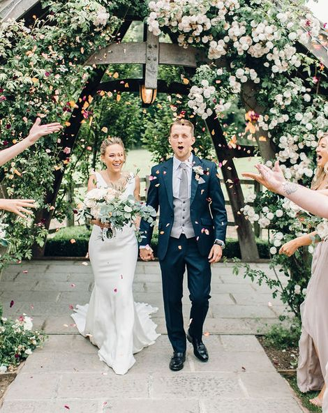 Wedding flowers by Rebel and The Rose