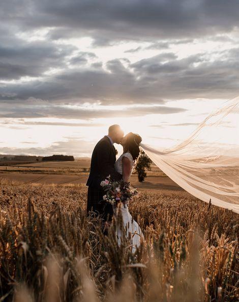 Aberdeen Wedding Photographer Captures Authentic Scottish Wedding
