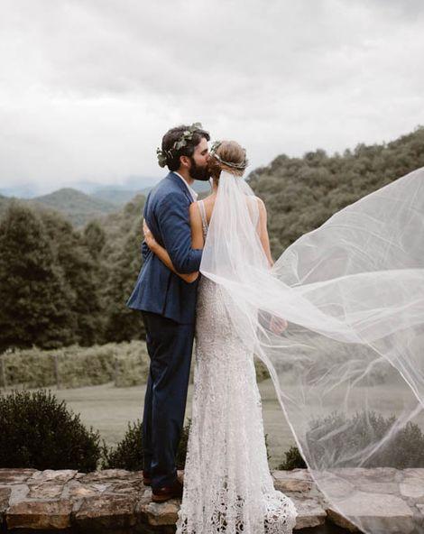 Ukrainian Wedding Crowning Ceremony With DIY Decor In North Carolina