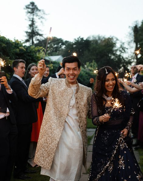 Indian Wedding Dress For Ultimate Fusion Wedding