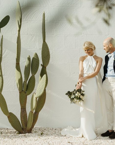 Masseria Moroseta Wedding in Italy with Halfpenny London Bride Dress