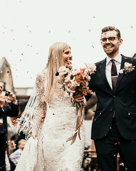 Clapton Country Club Wedding With Boho Dress & Foliage Decor