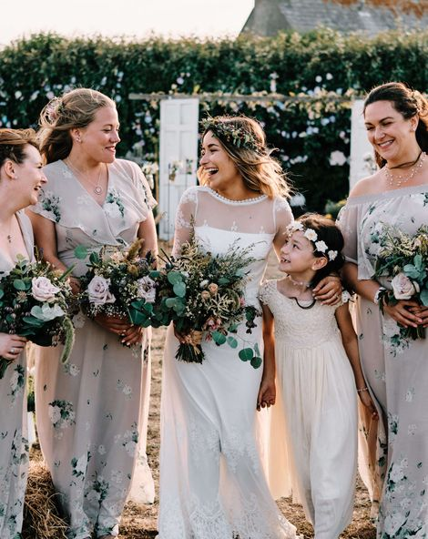 Globe Guest Book and Rustic Ceremony At Sustainable Wedding in Jersey