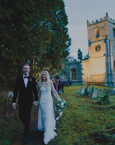South Farm Winter Wedding on Croxton Park Estate, Cambridgeshire