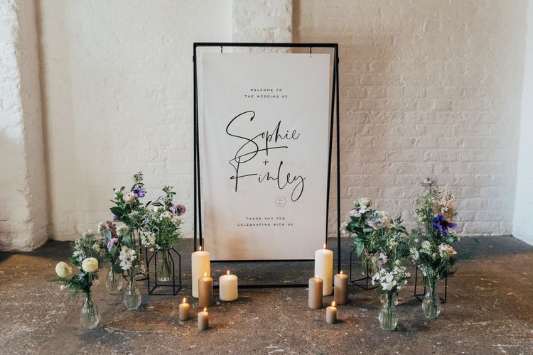 made by wood wood made by wood and wood wedding signage stationery decor hire 8