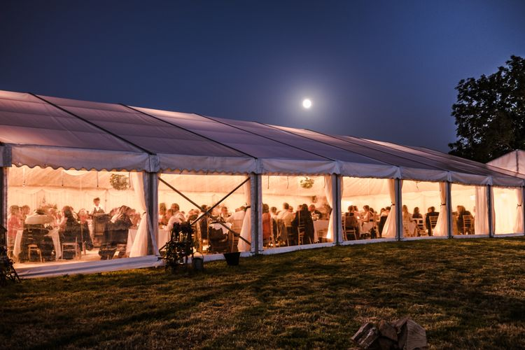 barny lee marquees marquee hire barny lee marquees external moon light