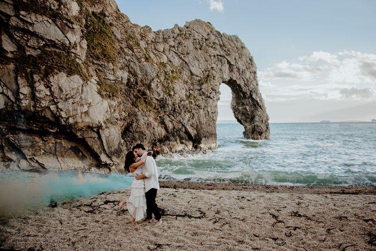 marta demartini photography durdle door elopement 221