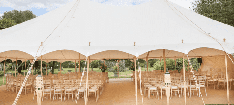 the swanky marquee company petal pole 1 no sides