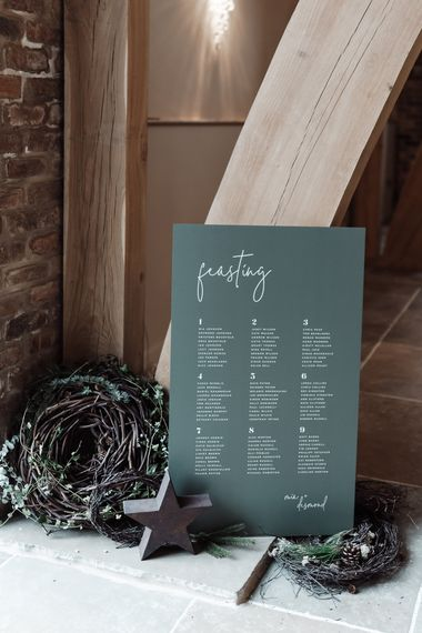 made by wood wood made by wood and wood wedding signage stationery decor hire 1