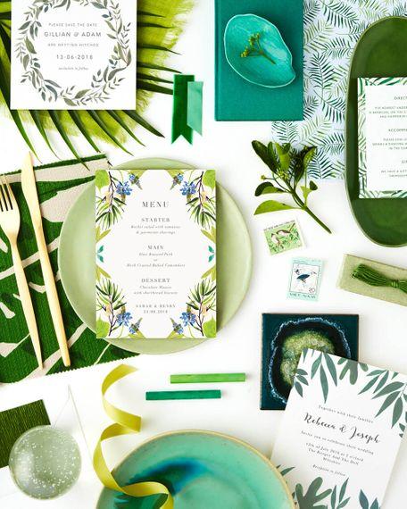 06.17 TheFold WeddingColourThemes Greenery Instagram