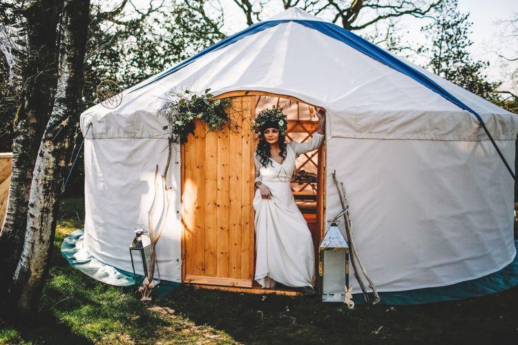 north sky yurts bride yurt