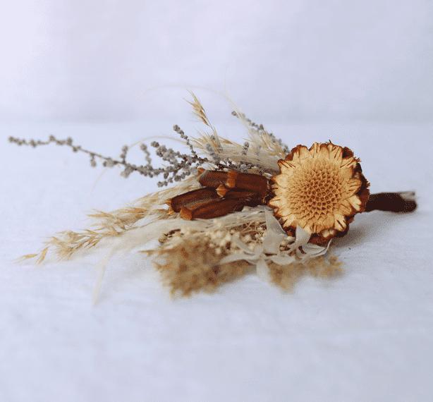 shida preserved flowers desert bloom buttonhole