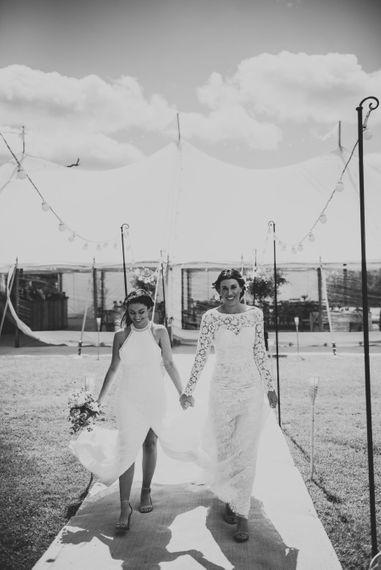wonderful events marquee wedding same sex uk