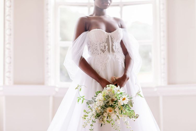 luxury lace tulle wedding dress 1
