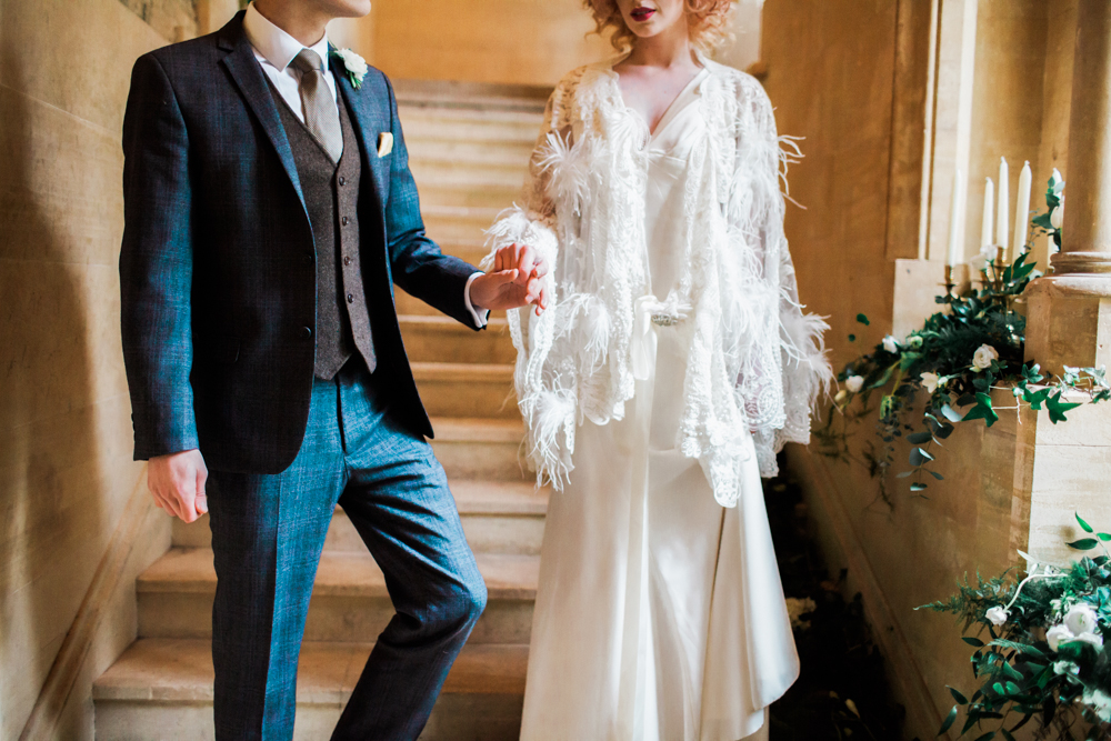 1920s wedding inspiration daisy says i do images from bowtie and belle 1920s inspired bride junglespirit Image collections