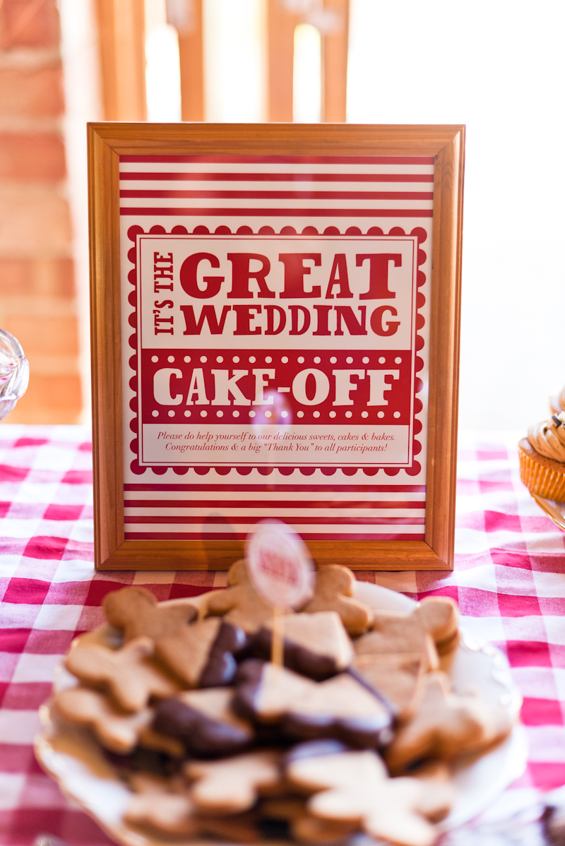 10 ways to have a beautiful budget wedding rock my wedding uk wedding bake off style dessert table solutioingenieria Image collections