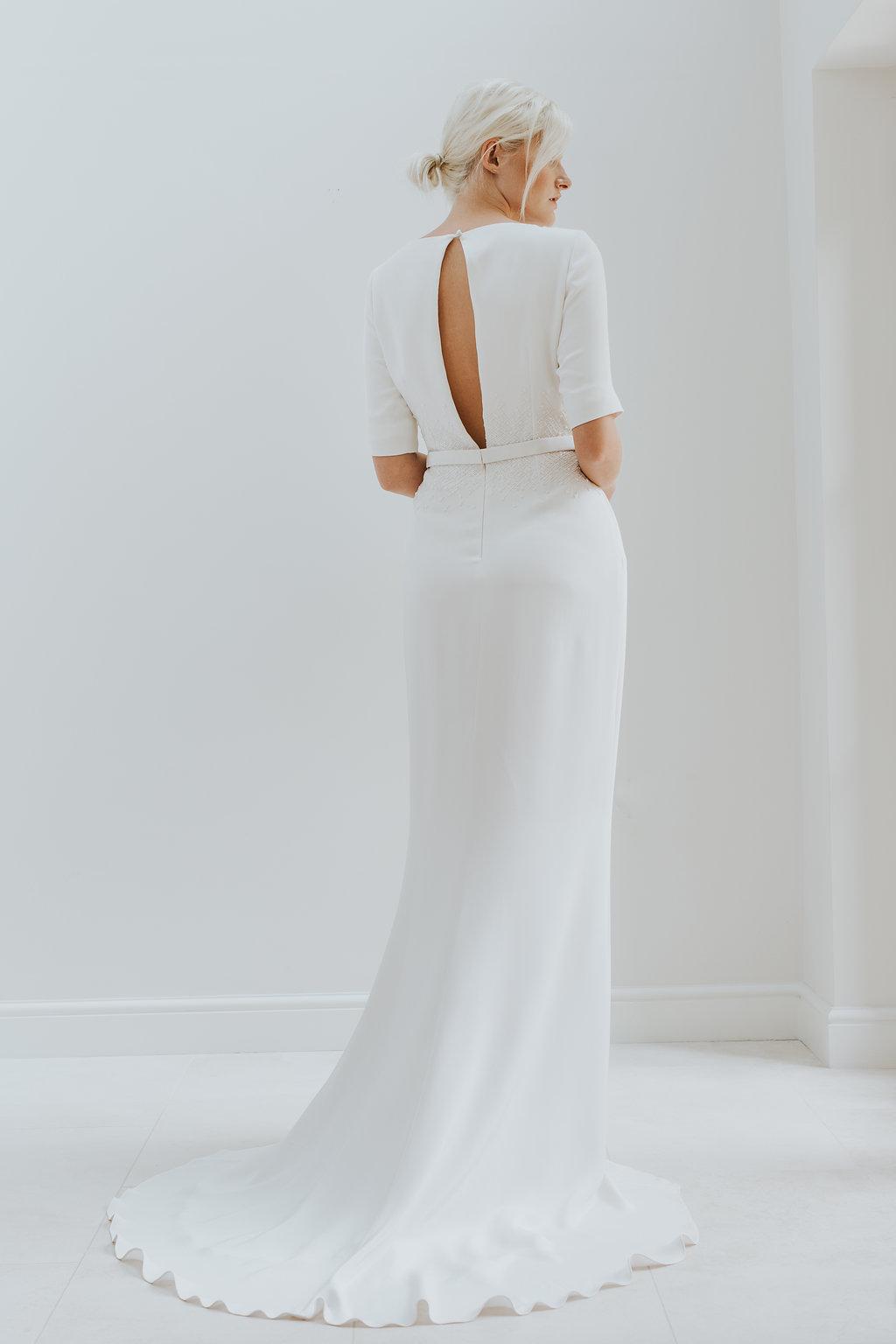 ec49857b2d9f2 Elegant   Minimal Bridal Gowns by Charlotte Simpson