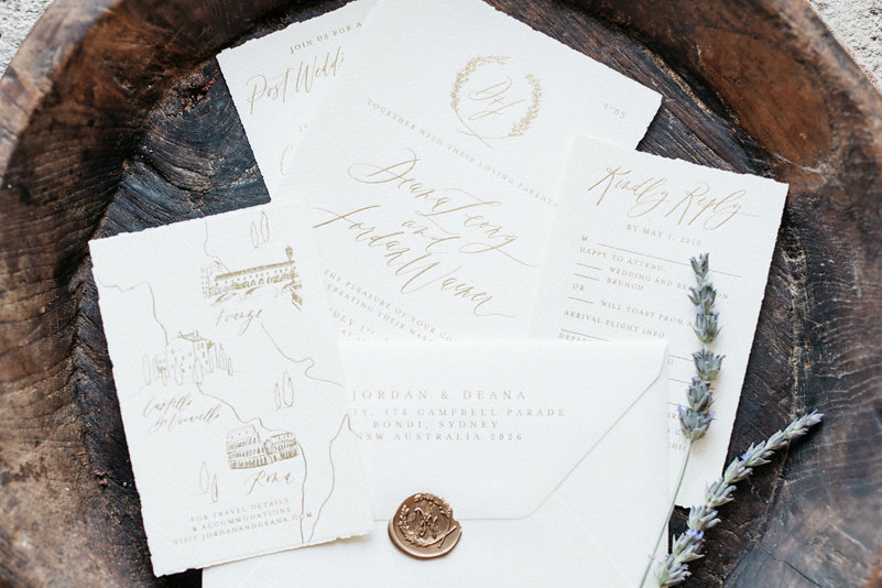 Tuscan Themed Wedding Invitations: Is Sending Invitations Necessary