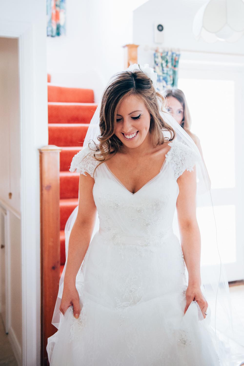 DIY Village Hall Wedding With High Street ASOS Bridesmaid Dresses