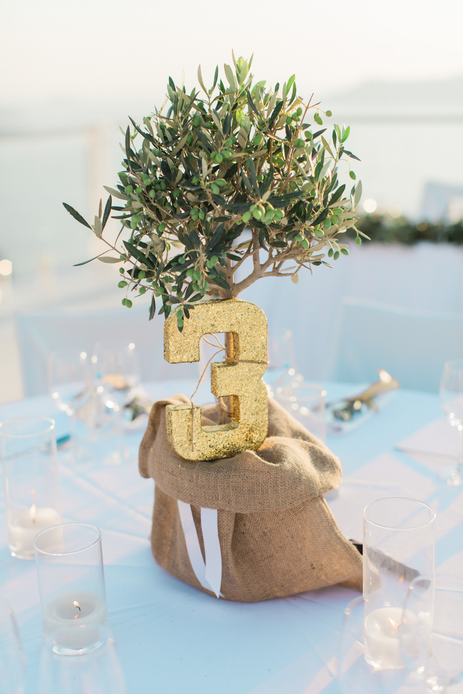 Elegant santorini wedding at rocabella hotel with olive