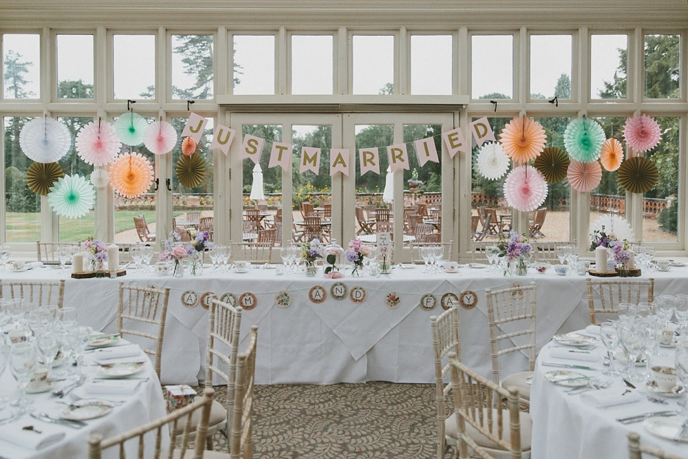 The Elvetham Hotel Wedding Venue Hampshire With A Chantilly Lace