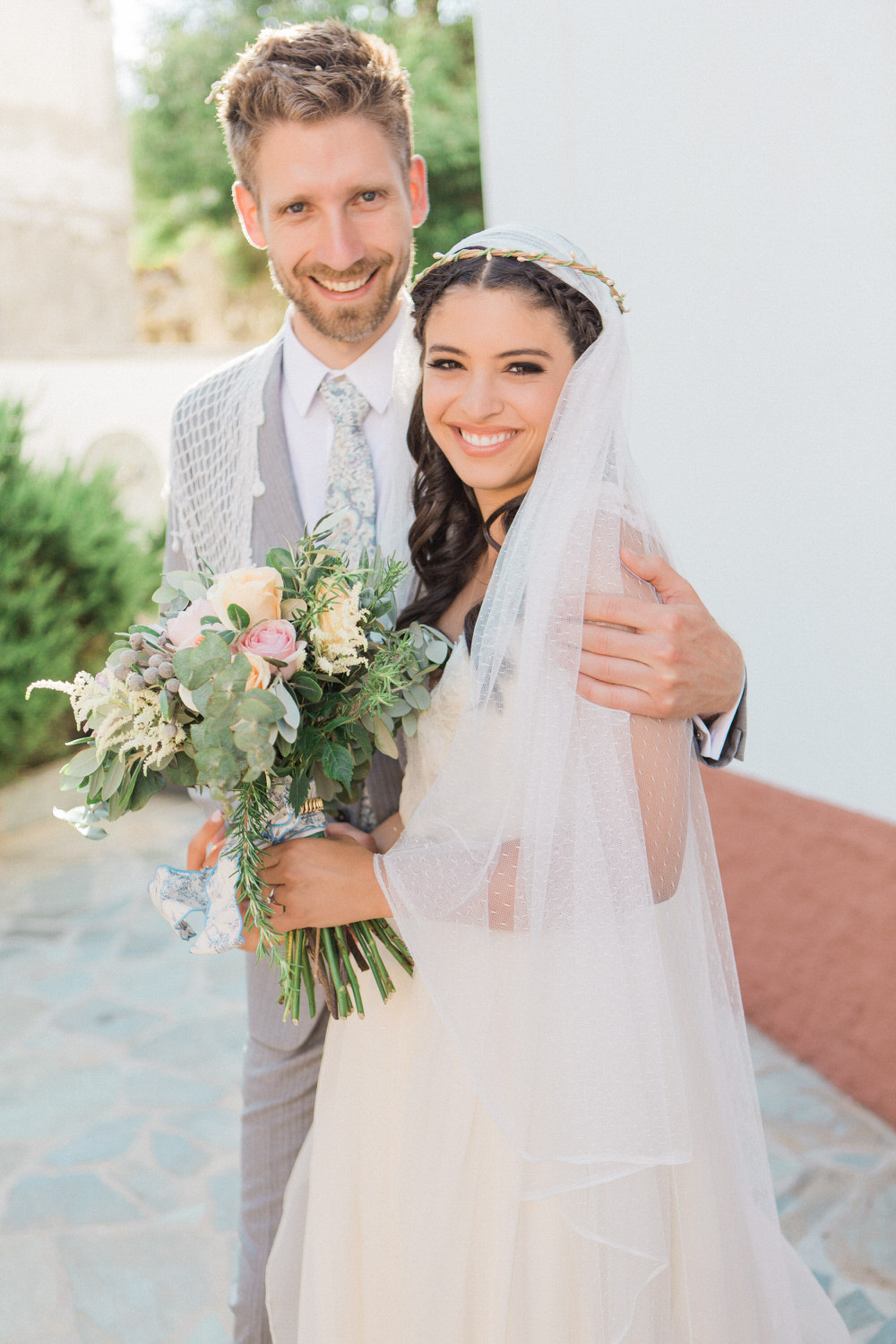 Traditional greek wedding with sarah seven wedding dress nude images by a ombrellifo Choice Image