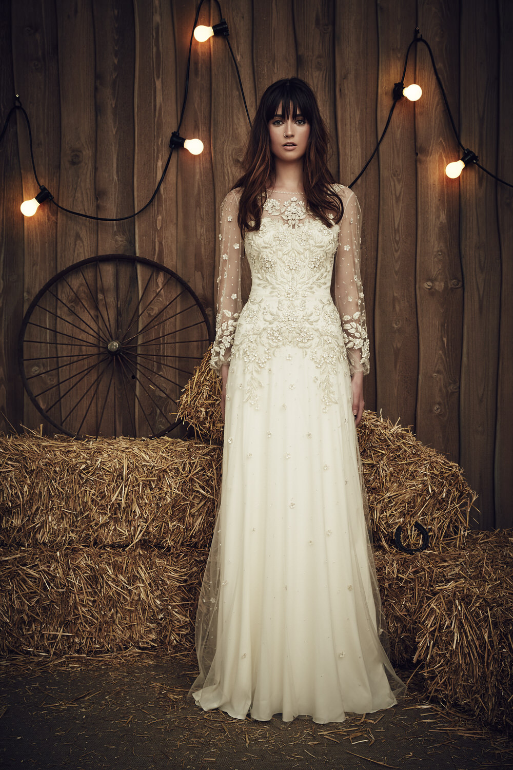 Jenny Packham Apache In Ivory   Bridal Collection 2017