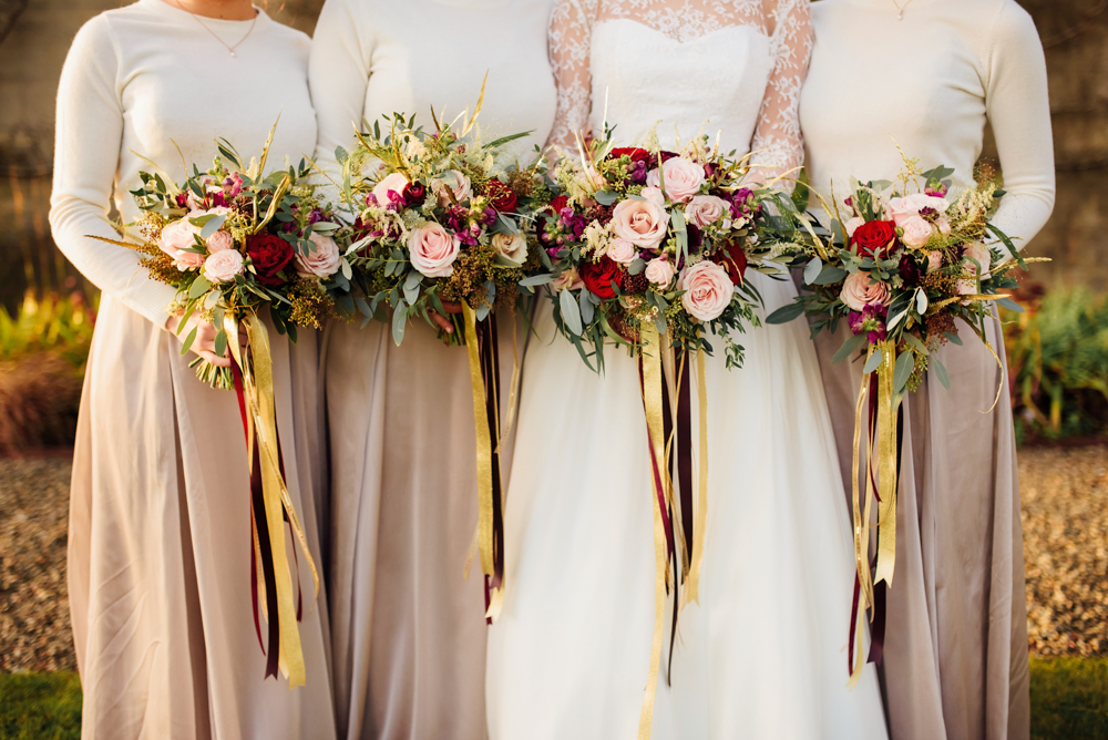 Red gold rustic winter wedding at the carriage rooms on montalto a junglespirit Choice Image