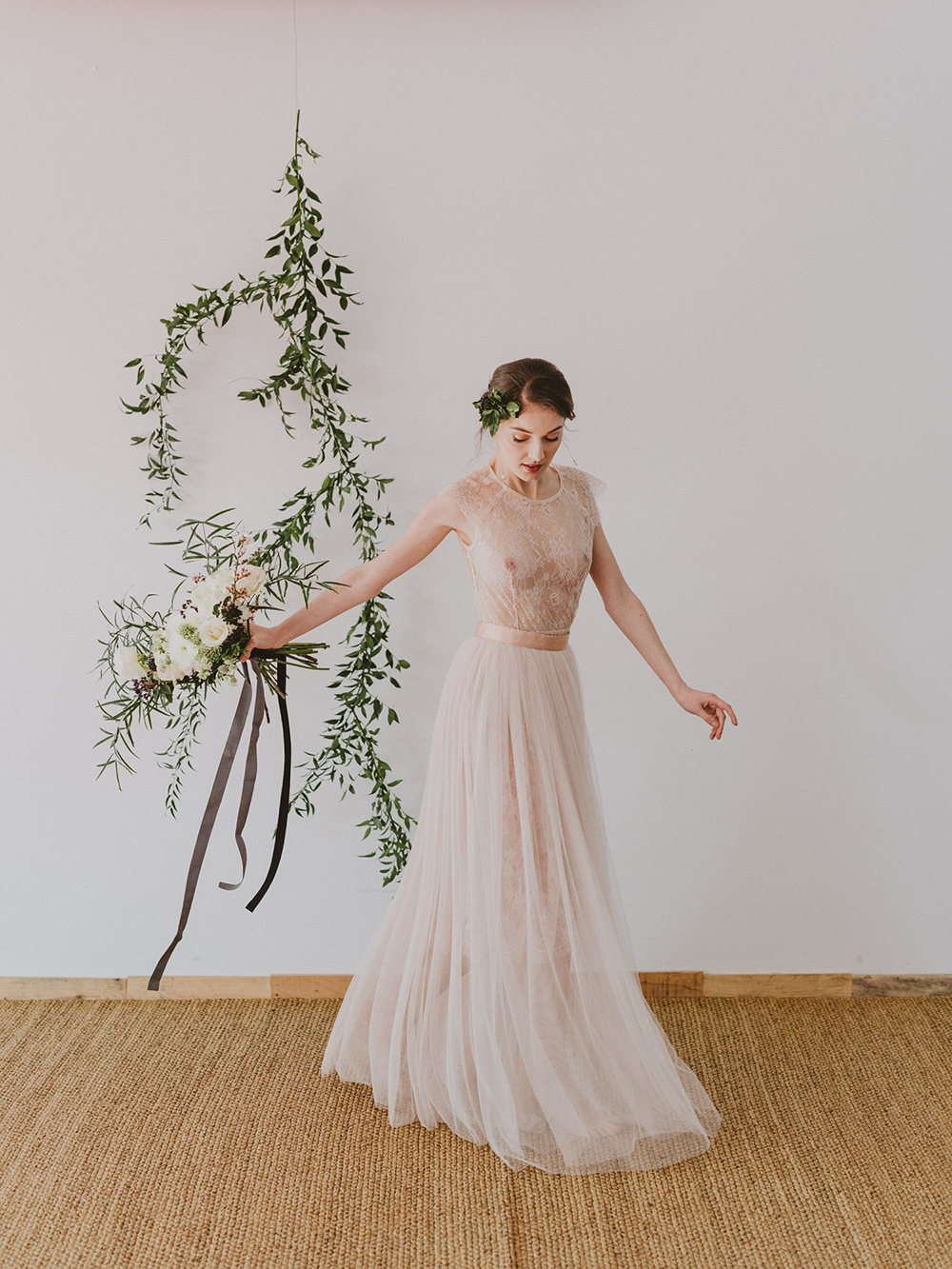 Marble copper wedding inspiration shoot styled by best day ever image by a ombrellifo Images