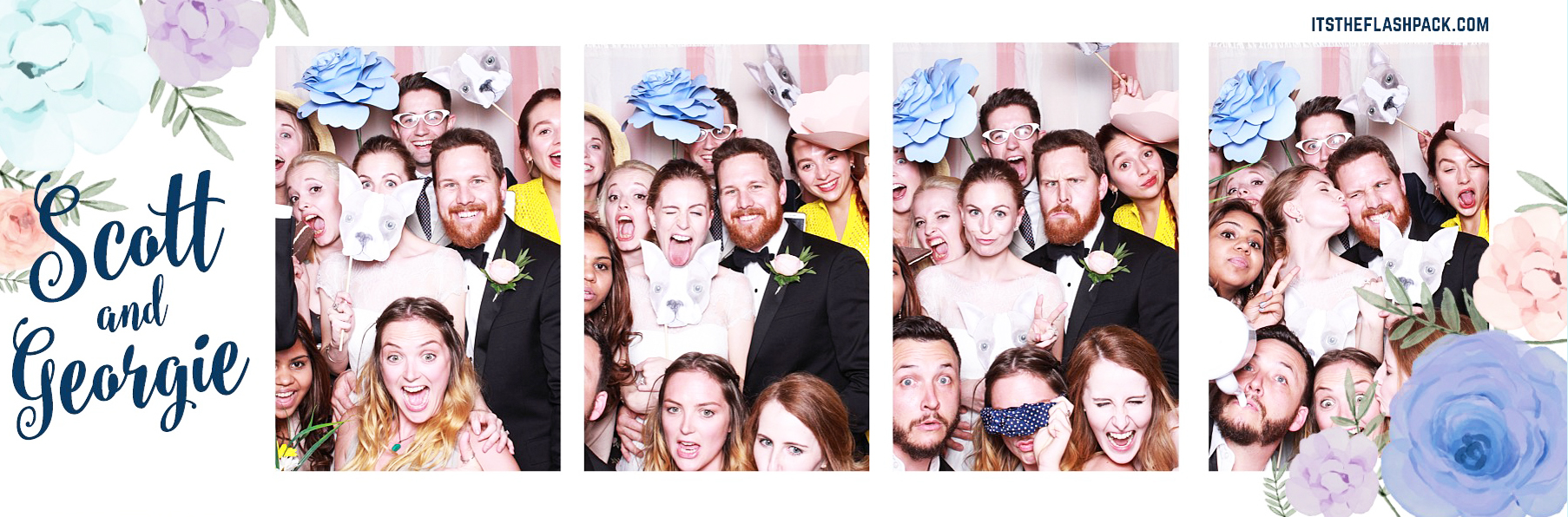 unique wedding photo booths from the flash pack rock my wedding