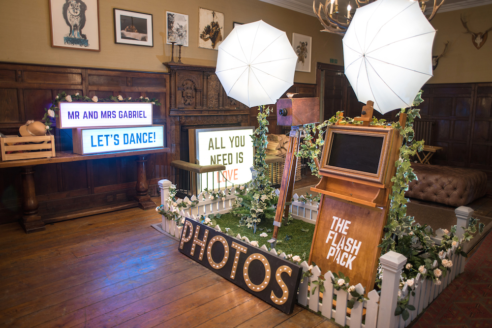 Creative Wedding Photo Booths The Flash Pack