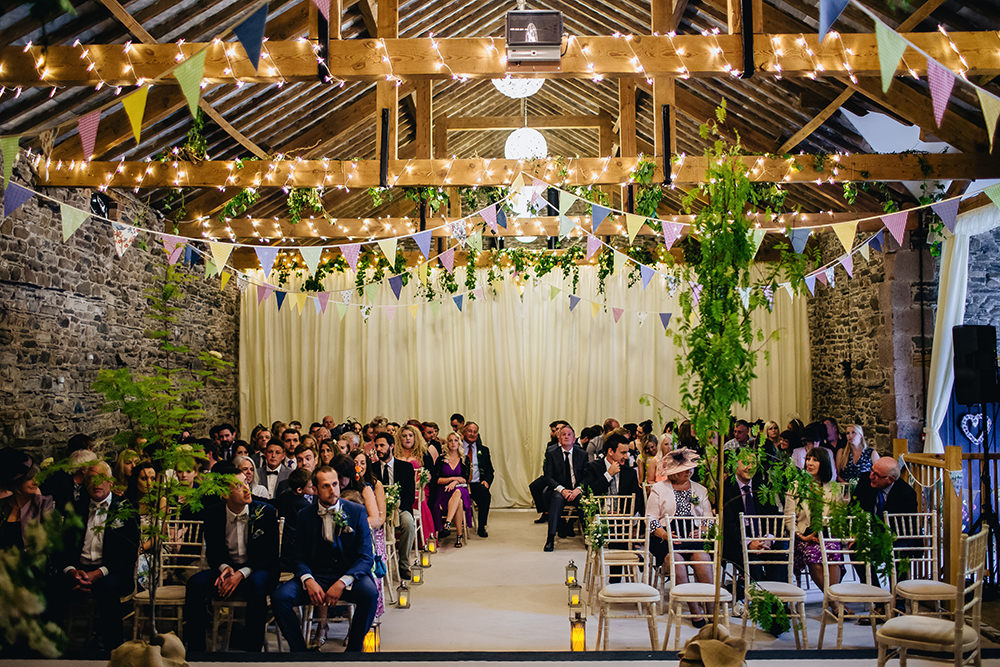 Rustic wedding at new house farm with diy decor wild flowers image by a junglespirit Gallery