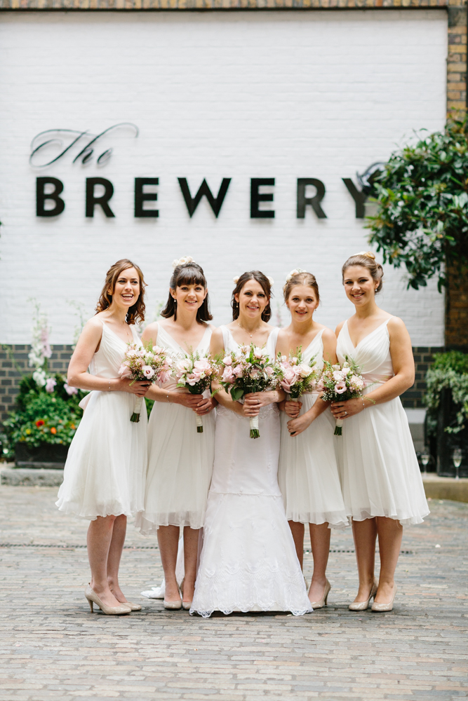 Bridesmaids Dress Trends White on White