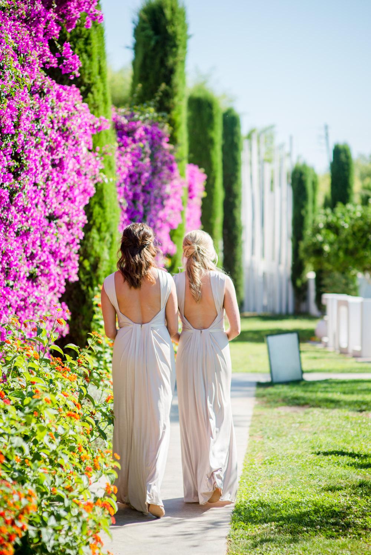 Outdoor Wedding at Atzaro in Ibiza with Suzanne Neville Bridal Gown