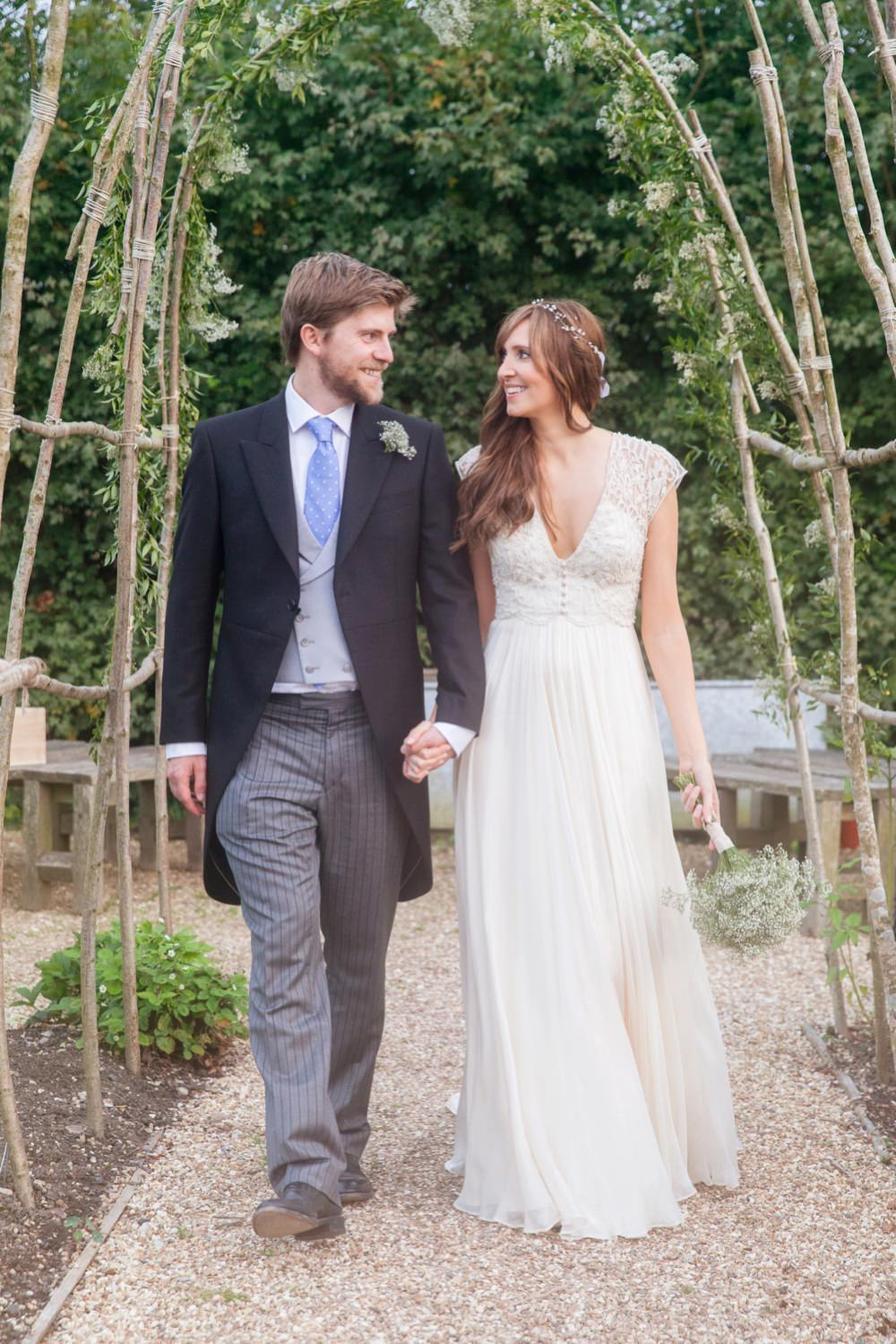 A bespoke catherine deane bridal gown for a wedding at river cottage image by a hrefhttpmckenzie brown ombrellifo Images