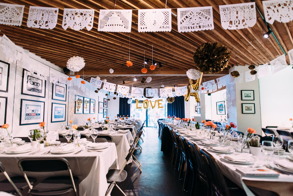 The Proud Archivist London Wedding Venue For A Mexican Themed