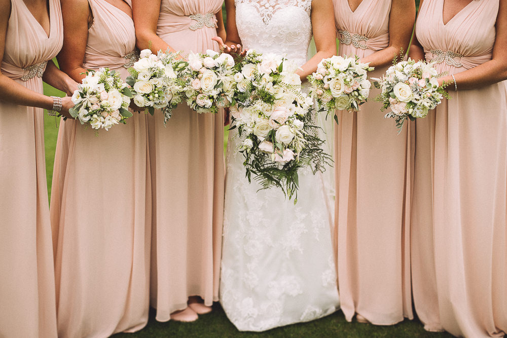 Elegant wedding at farnham castle with blush pink white colour image by a hrefhttplondon weddingphotographer junglespirit Image collections