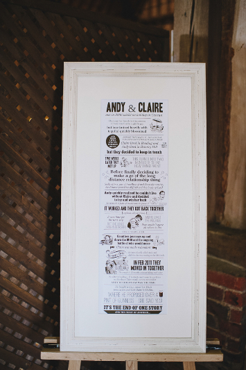 Claire & Andy's amazing wedding at Lillibrooke Manor