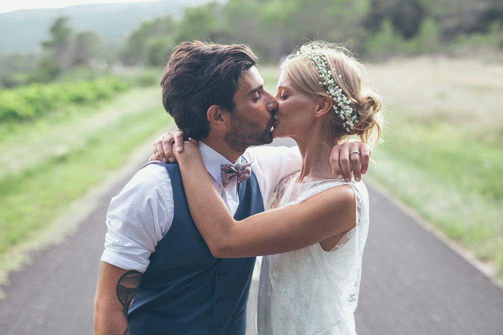 Rime Arodaky For A Bohemian Bride Amp Tattooed Groom With