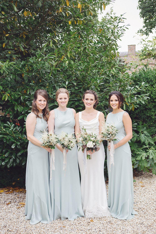 Elegant Pale Green & White Rustic Wedding at Wasing Park