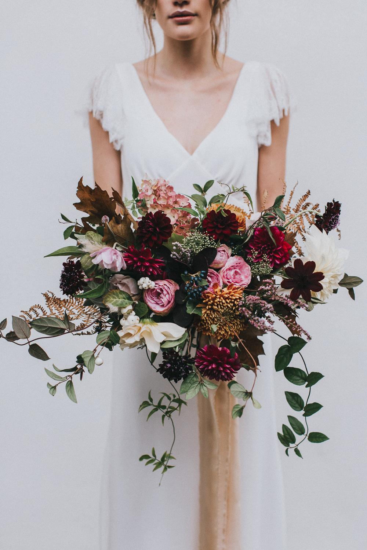 Stylish Autumnal Wedding Shoot From Top UK Wedding