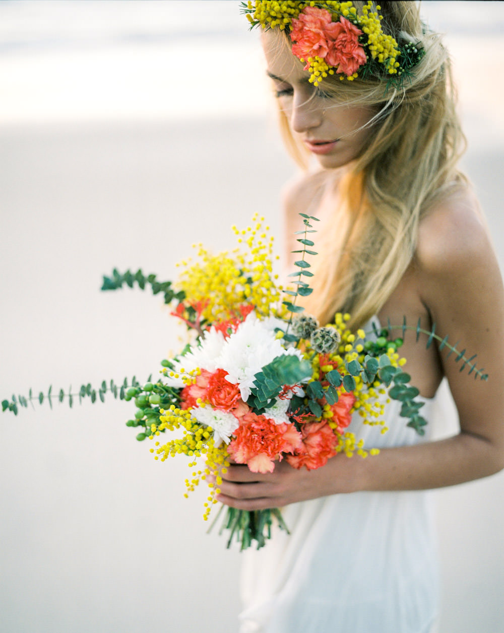 88bd4b7598 Dreamy Bohemian Beach Wedding Inspiration Shoot In Porto Portugal With  Styling By Best Day Ever And Images From Marcos Sanchez