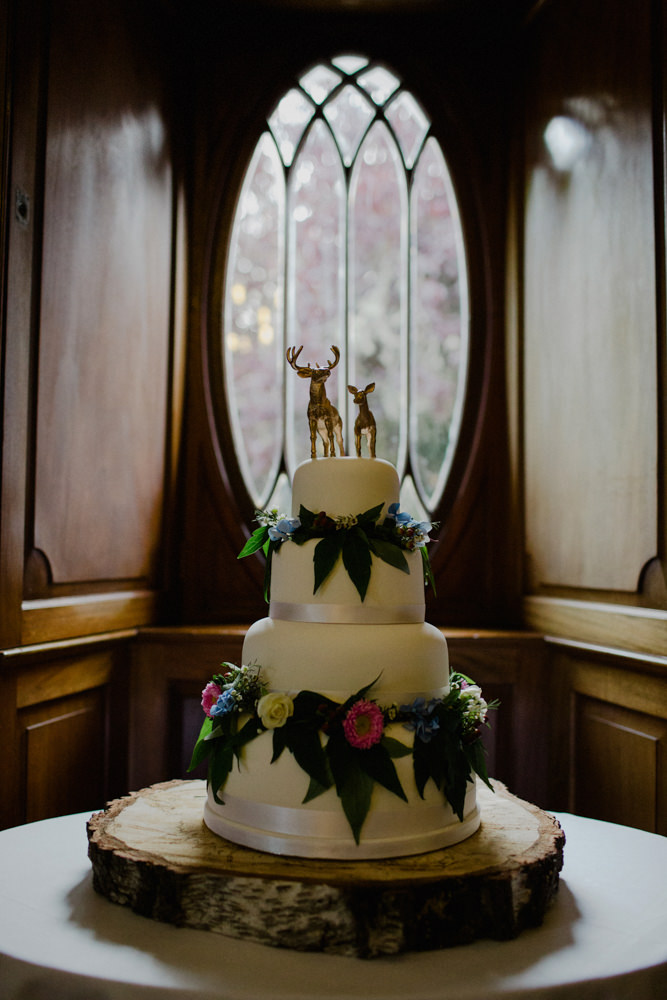wedding cakes inverness scotland woodland themed wedding at achnagairn estate inverness 24796