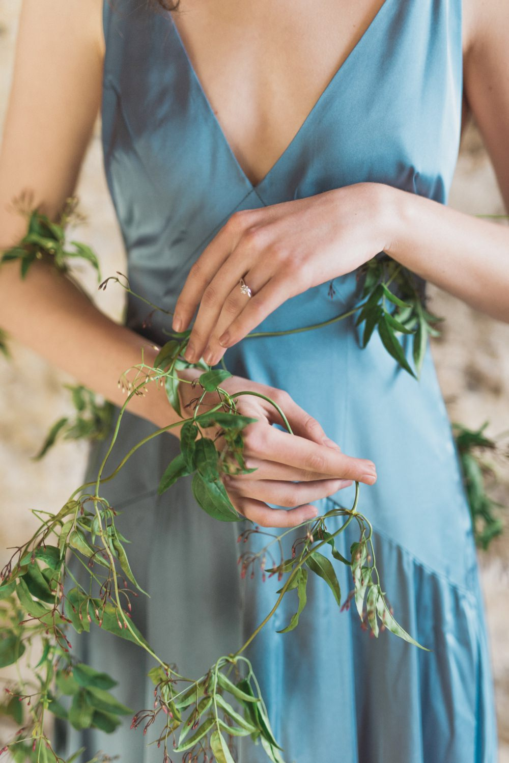 Romantic Blush Wedding Inspiration by The Wedding Stylist at Notley ...