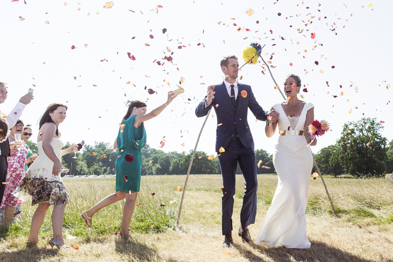Stylish Budget Marquee Wedding In Sussex