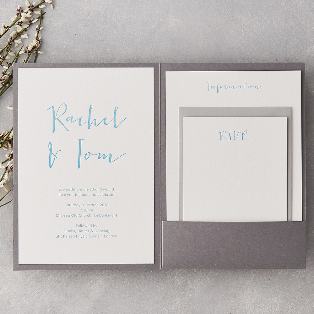 Calligraphy Brush Lettering Wedding Stationery RMW The List