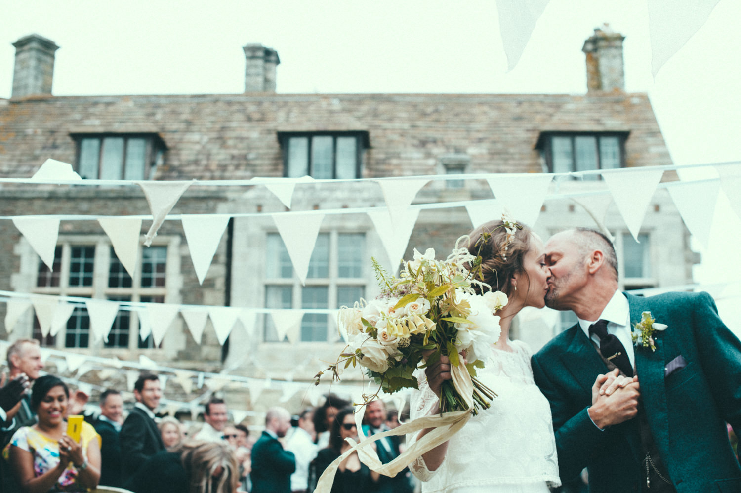 Prussia Cove Wedding Stephanie Allin Laure De Sagazan Bride In ...